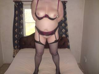 Well we would spend hours enjoying every little delicious bit of you and then we would go back for seconds. Hot! body, Great tits and Top marks from us both xxx