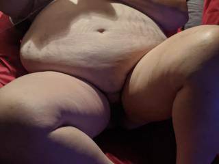 she has a belly, but boy can she fuck. my new three hole girlfriend.