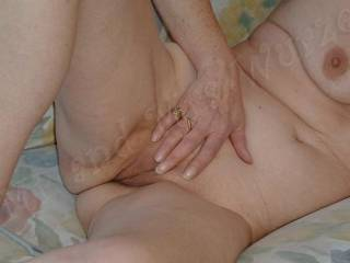 Super smooth pussy, just waiting.....C\'mon girls!