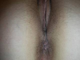 Mrs MNDUKs gorgeous pussy and ass ...would you like to snack on this?