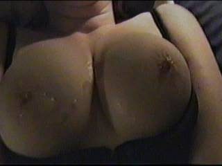 She's got a great pair. Love those hard nipples.