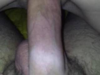 Pussy swallowing cock