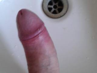 So horny just had to play with my hard cock