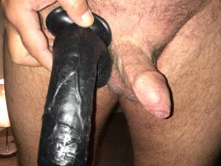 What I have and what I want... he fucks me with his small dick and I imagine getting bigger and stretched.