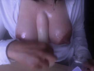 Mmmmmmm, I wish that my favorite dildo was your fat cock. 