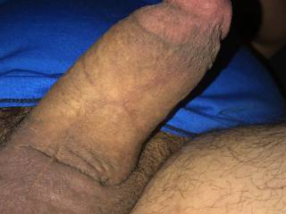 close up of my fat cock
