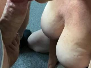 Horny wife was wanting some fun with her vibe, so decided to make it fun for both of us xx