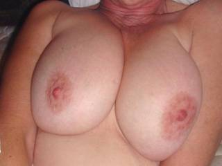 Love your massive tits, babe, what a mouthful!  Absolutely beautiful!!! xxx