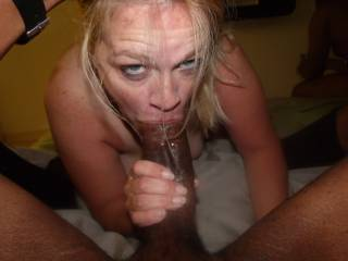 BEAUTIFUL BLONDE WIFE TURNED INTO BLACK COCK WHORE