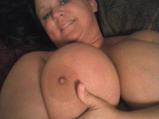 I want to pump out a hot massive load on your titties.