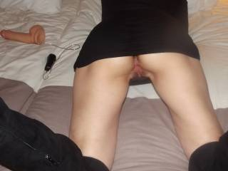 would love to ease your skirt up, slip my hard cock inside you and feel your soft arse cheeks bouncing against my thighs as I fuck you nice and slow from behind. My cum would look delicious running from your soaked pussy