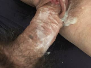 Fucking cum in my pussy