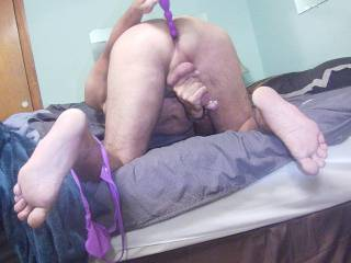 prostate toy  for  your viewing pleasure....Vibrating Beads