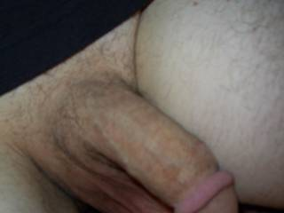 hubby's cock nice n soft - who's gonna make it hard?