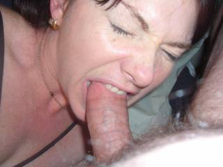 mmmmmm good girl  i love the head of my cock bit while i shoot my load makes me shoot twice as much and twice as hard