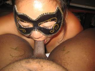 Mmmmm, I wanna be next...she can give me a delicious blowjob just like that....G