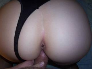 what a beautifully rounded ass you have - and that sexy lil anus is just dying for a tongue - MINE!  You are soooo yummy!