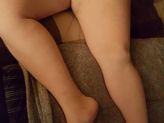 Thighs and feet