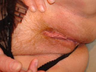 Your pussy looks VERY tasty! I'd love to lick it and enjoy your heavenly sweetness!