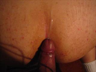 Luv to fuck ur ass with my cock plus balls !!!  Wanna lubricate ur palpitating rectum with a load of my hot, thick, non-salty / sweet cum !!!!!
