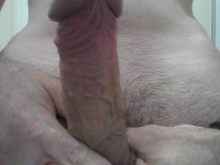 My wet (not fully erect) dick. Ya want some?