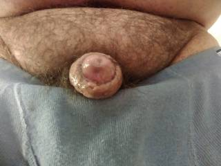 Precum was flowing after giving a friend head