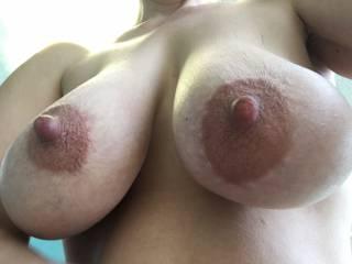 Wife\'s hangers and big nipples