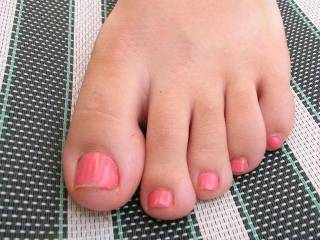 Wow...love them! Want them on my face, in my mouth and wrapped around my cock until my huge hot thick creamy cum is dripping down between and from those breath takingly beautiful toes!! Gorgeous!!!