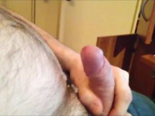 nice to see you cum - mmmm and also great to see an uncut cock in usa! ;)