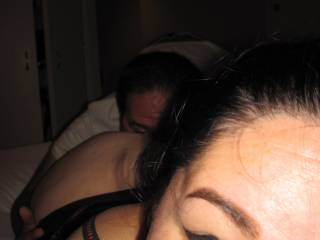 Being a good cuckold and eating my wife\'s asshole... getting her horny for her fans to enjoy...