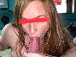 Some throat training with a new pet slut. Always looking for new whores to model for me while taking my dick.