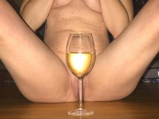 She teasing me to cum over for wine