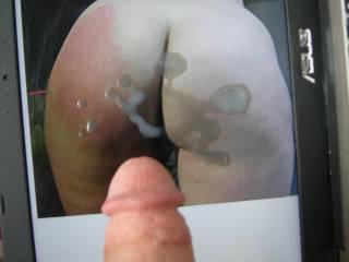 Cumming to BlondePawg\'s sexy ass