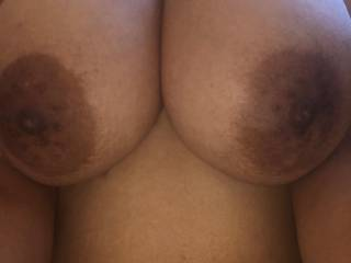 Beautiful brown breasts. Don\'t you agree?