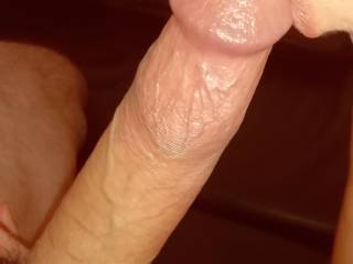 I\'m so crazy about his hard cock!.. I could suck it all day!