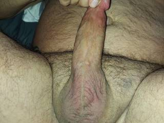 Huge hard and ready to cum!