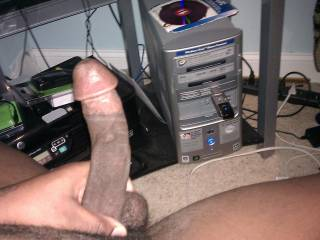 That is one nice cock.  Bet it would feel great pounding my tight, little, asian kitty(^_^)
