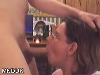 Damn this was good she sucked me so hard and then asked me to cum all over her glasses for you all to see...Do you like it?