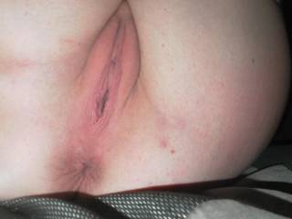 made her give me a look before I shoved my big black cock inside.. who likes??/