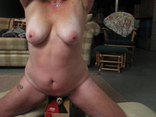 Keep training her and she will cum only when you permit. And anytime just on your command.