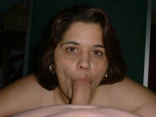 Wife is an incredibly dick sucking talent!  Luv to experience her fine skill sometime....