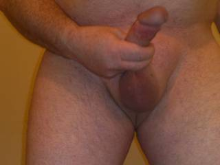 Great picture of you having a wank! :-) You have a sexy and very suckable looking cock ;-) Thank you for sharing.