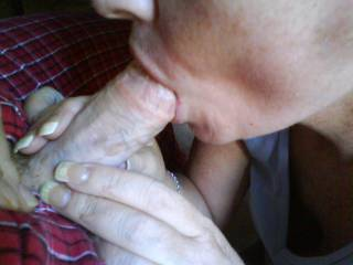 hubby getting sucked off by my friend rebecca