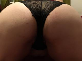 My big butt ready for you to pull down my panties and fuck me