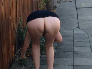Rate my mature ass. Is it too big?