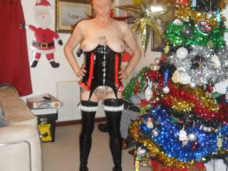 hi just me last christmas showing my new basque comments please mature couple
