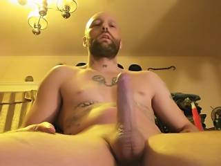 My dick is so hard I\'m so close to blowing a really big load
