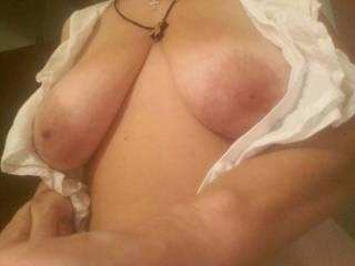 Romanian mature hot wife having big tits