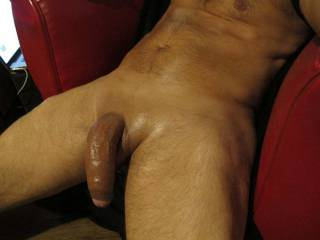 My big smooth cock