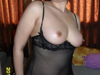 lovely nipple, amazing tits, what more could a man ask for